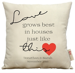 Love grows best...