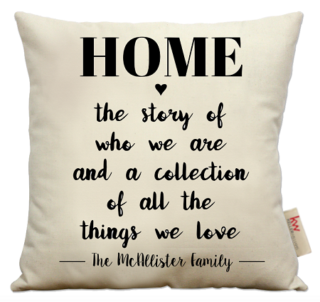 Home...story of who we are