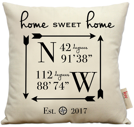 Home Sweet Home Coordinates