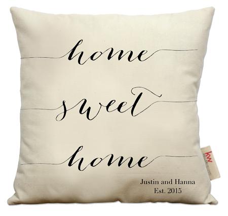 home sweet home pillow Home Sweet Home script home sweet home pillow