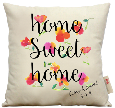 home sweet home pillow Home Sweet Home Flowers home sweet home pillow