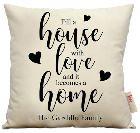 Fill a house with love...